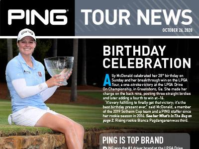 PING Tour News: October 26, 2020