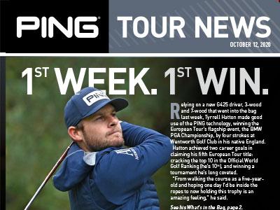 PING Tour News: October 12, 2020