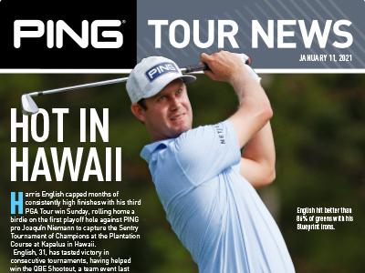 PING Tour News: January 11, 2021